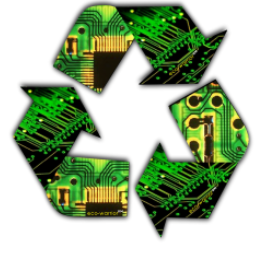 Recycle - PC Board Style